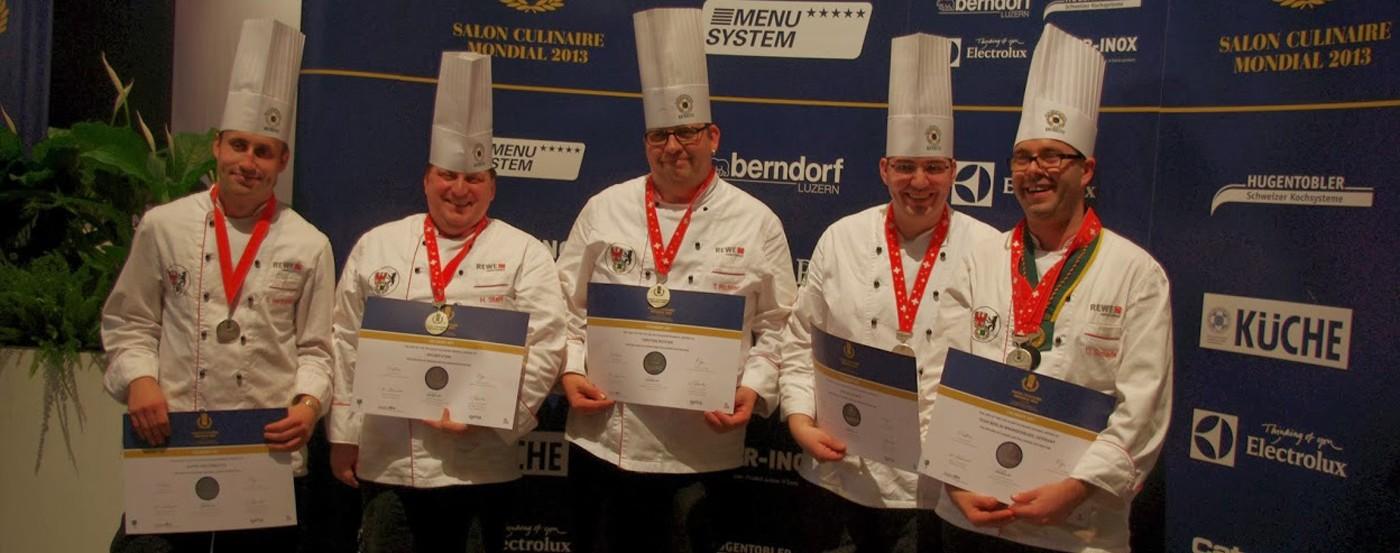 Salon Culinaire Mondial – Basel 2013 – Silbermedaille